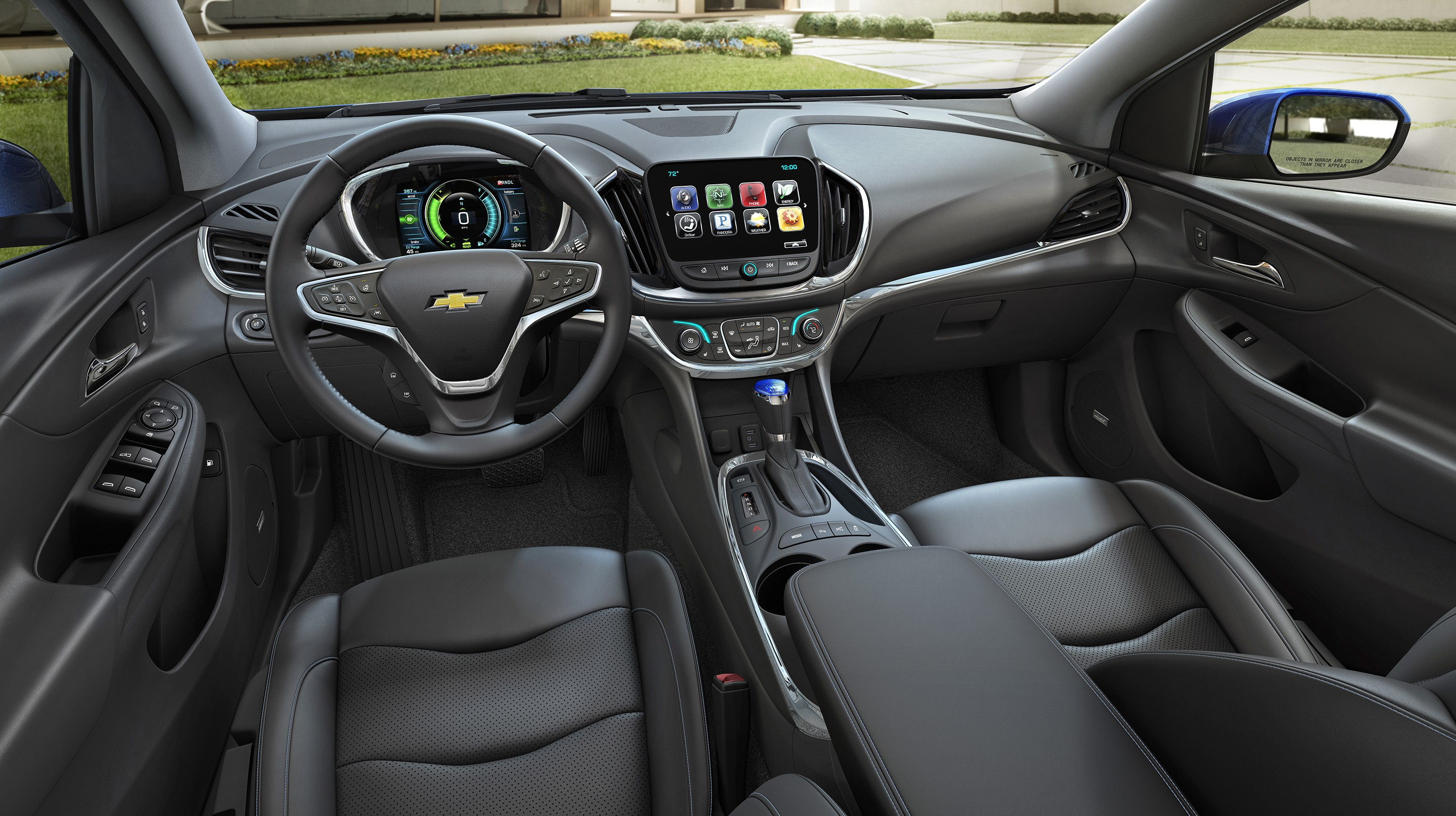 2016 Chevrolet Volt Color Palette Comprises Of Seven