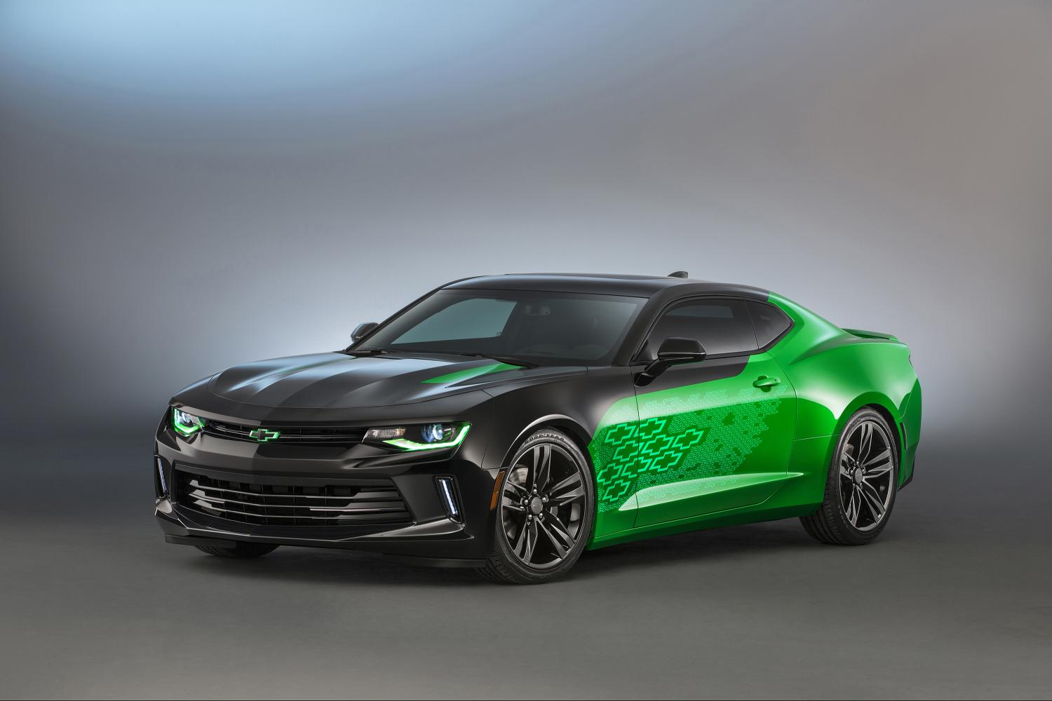 2016 Chevy Camaro Gets 4 Custom Concepts For 2015 Sema