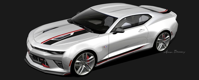 2016 Chevy Camaro Gets 4 Custom Concepts for 2015 SEMA ...