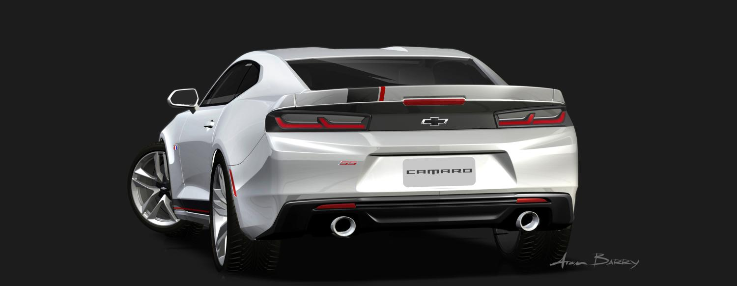 All Chevy chevy concepts : 2016 Chevy Camaro Gets 4 Custom Concepts for 2015 SEMA Show ...