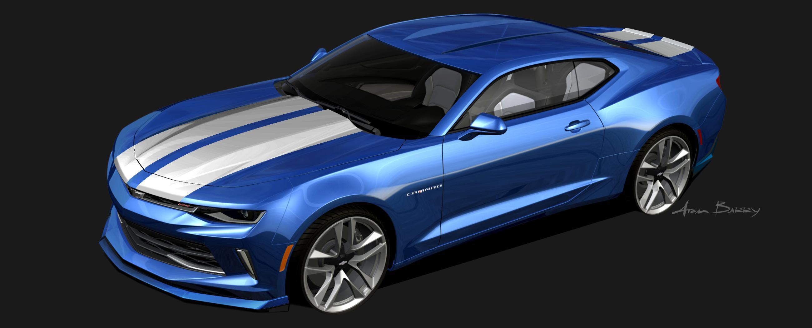 2016 Chevy Camaro Gets 4 Custom Concepts For 2015 Sema