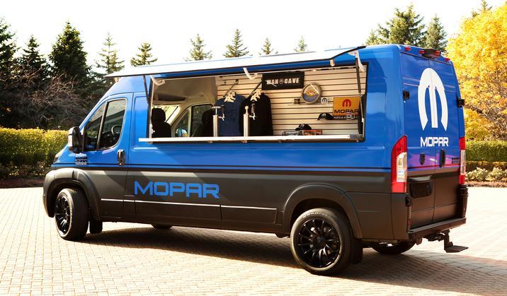 Ram Promaster Hospitality Van For 2017 Sema