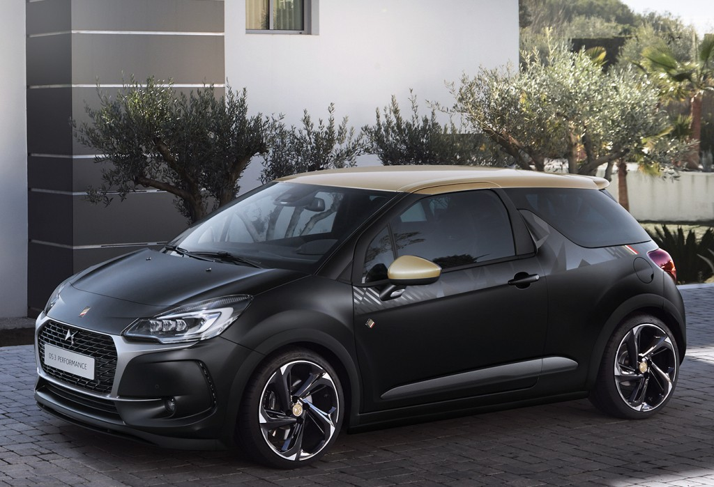 2016 ds3 cabrio performance has black paint and a 208 gti. Black Bedroom Furniture Sets. Home Design Ideas