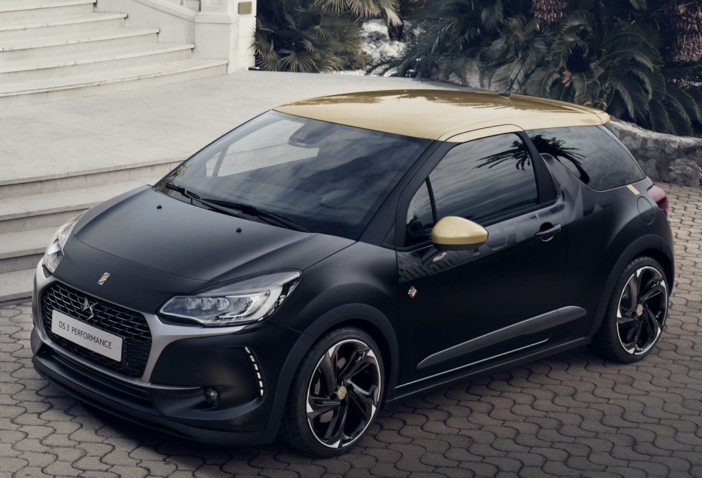 Ds Cabrio Performance Has Black Paint And A Gti Engine