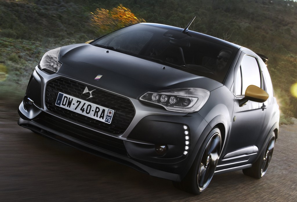 2016 Fiat 500 Abarth >> 2016 DS3 Cabrio Performance Has Black Paint and a 208 GTi Engine - autoevolution