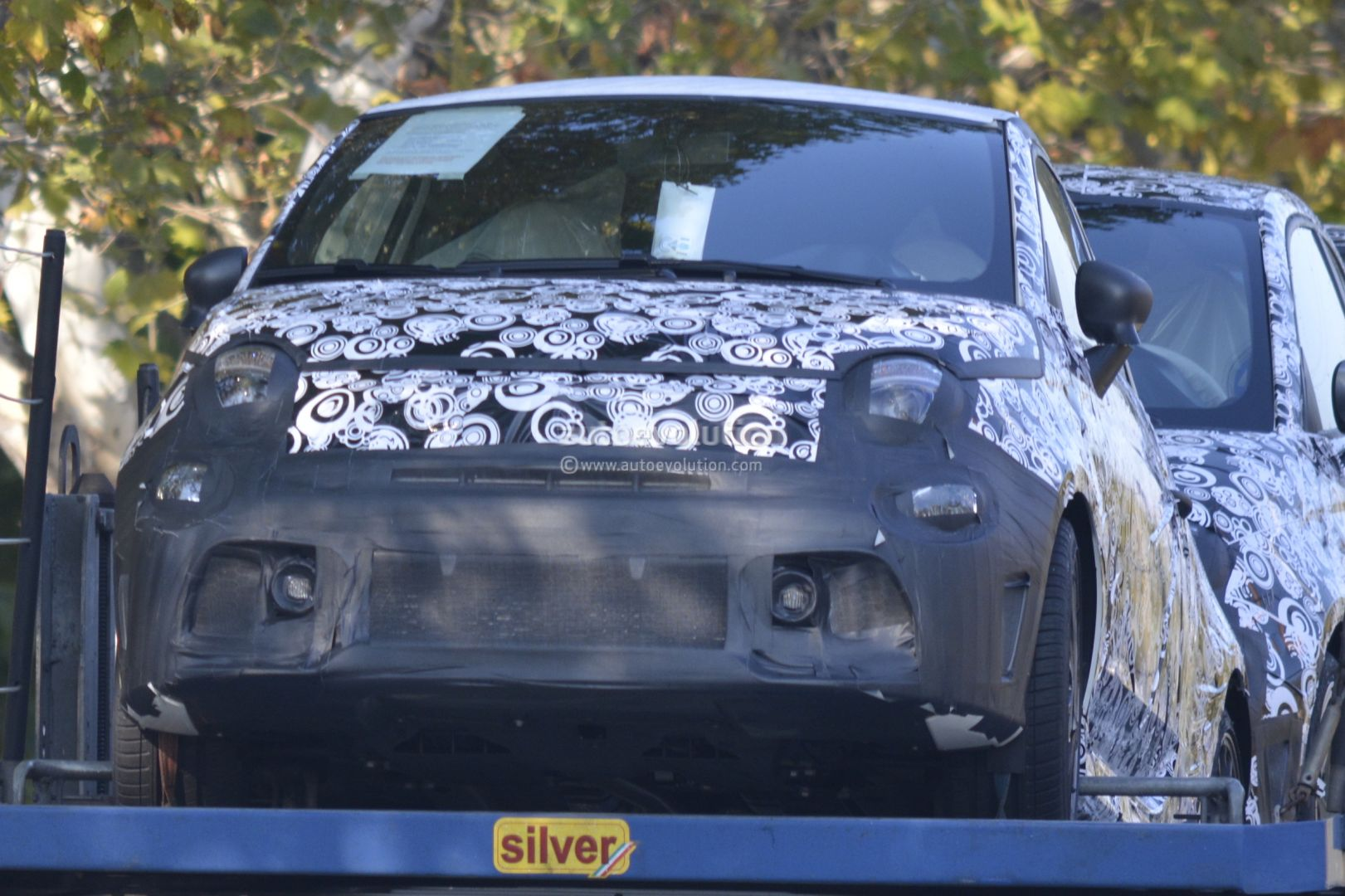 2017 Fiat 500 Abarth 500 Abarth Cabrio Facelift Spied During