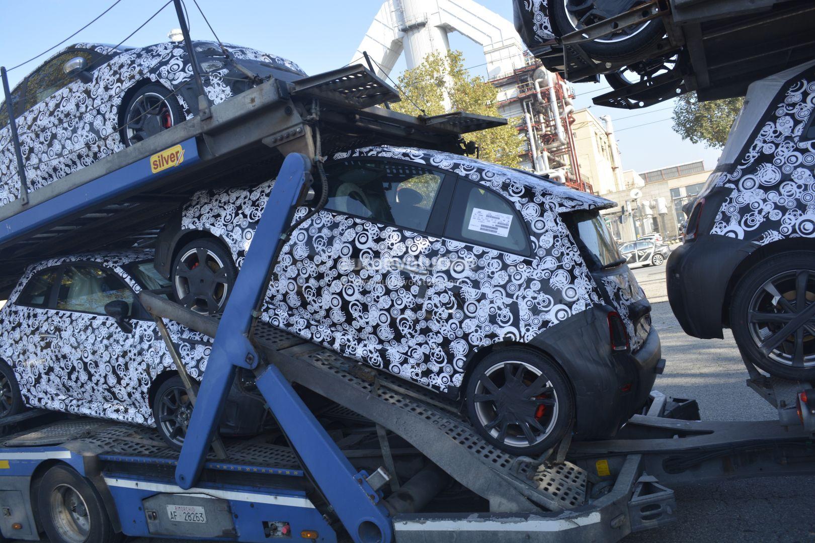 Fiat Abarth Abarth Cabrio Facelift Spied