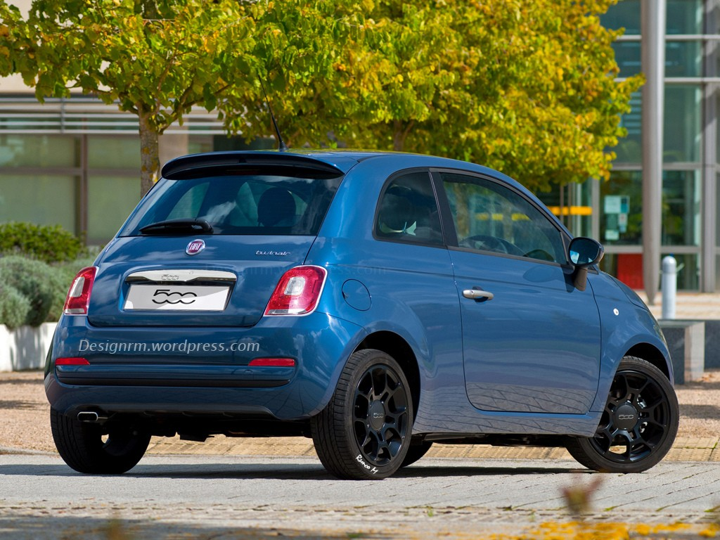 2016 Fiat 500 Facelift Rendering Autoevolution