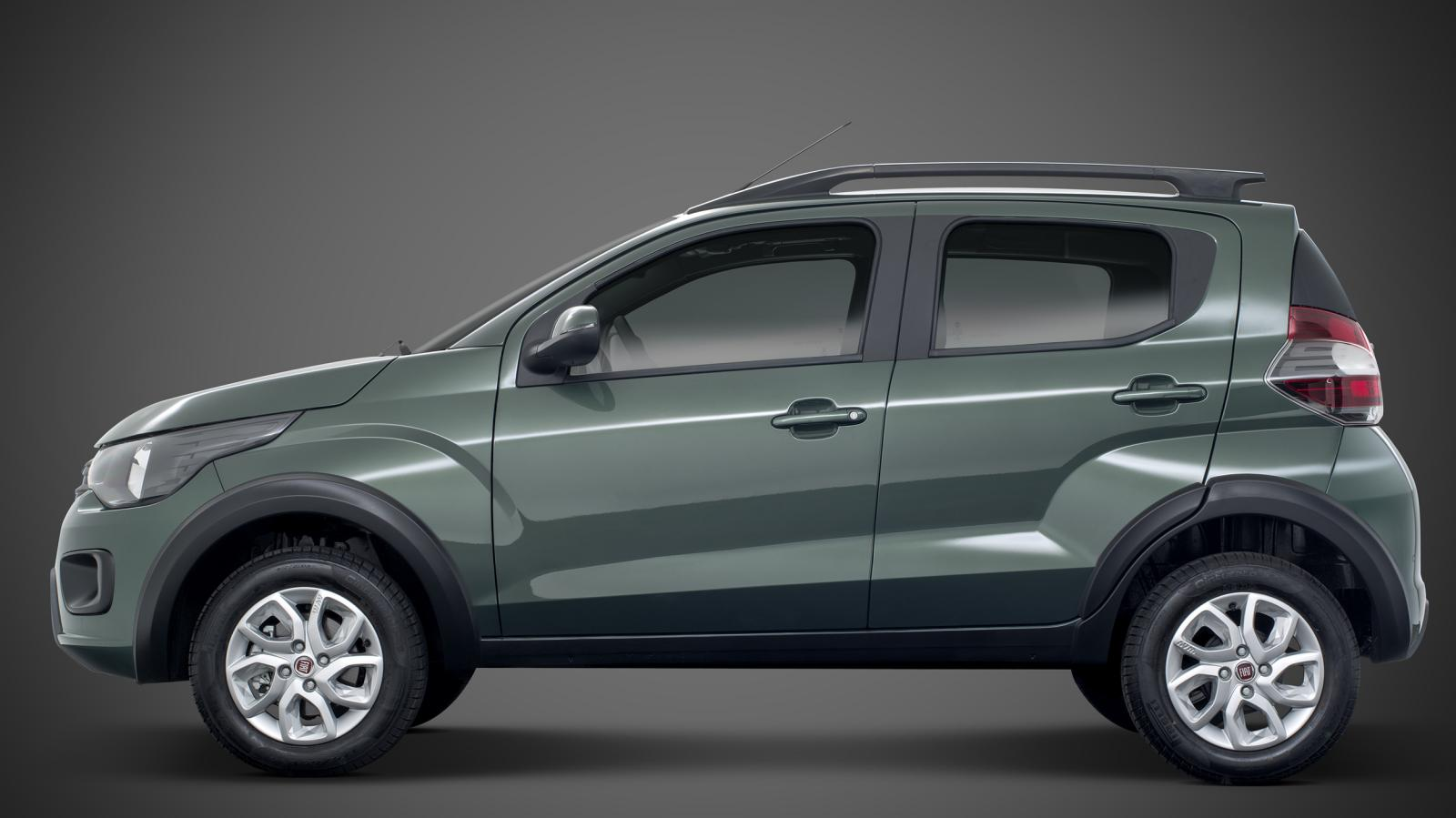2016 Fiat Mobi Debuts in Brazil, Takes On the Renault Kwid