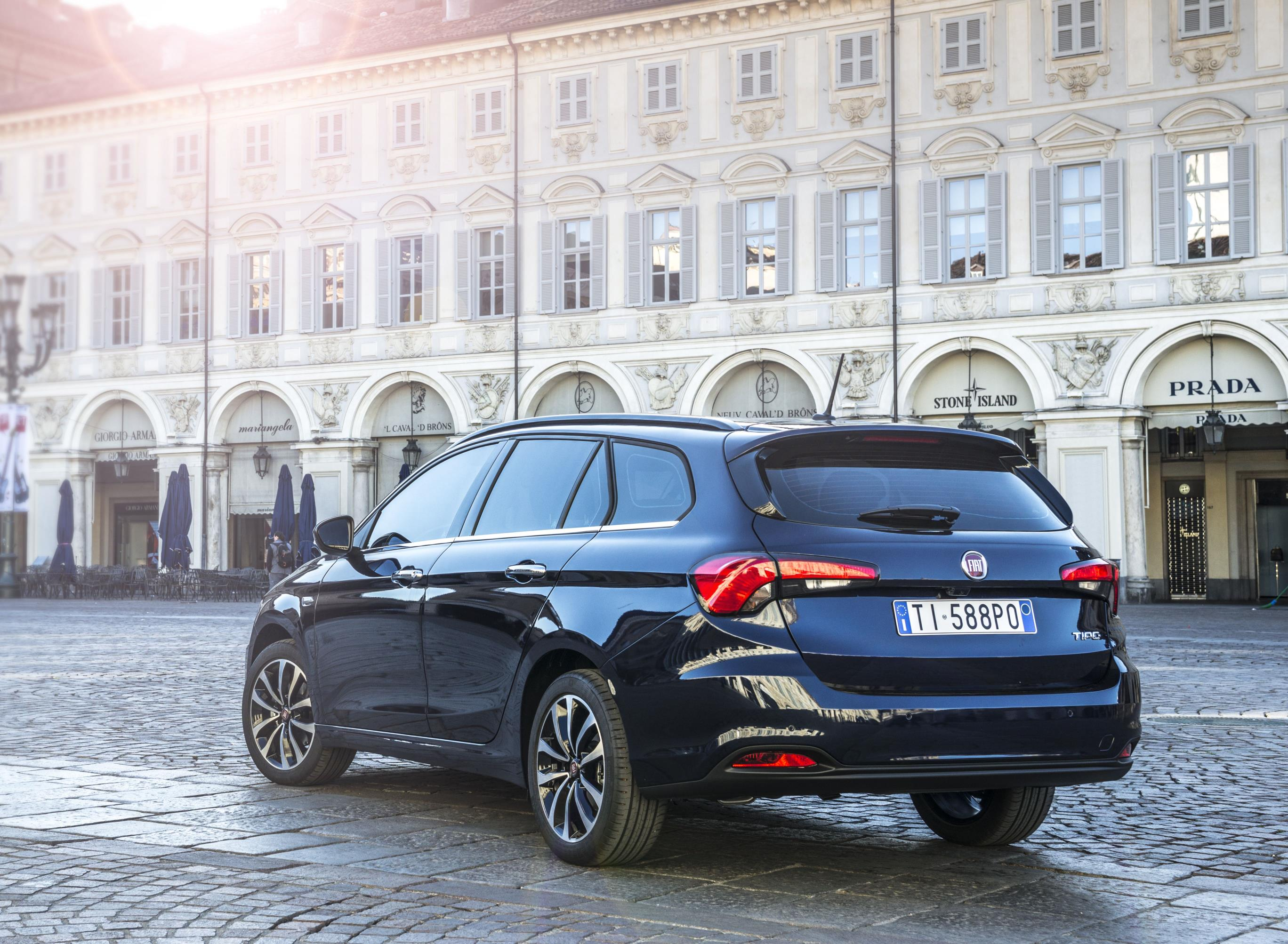 fiat tipo wagon station hatchback priced autoevolution