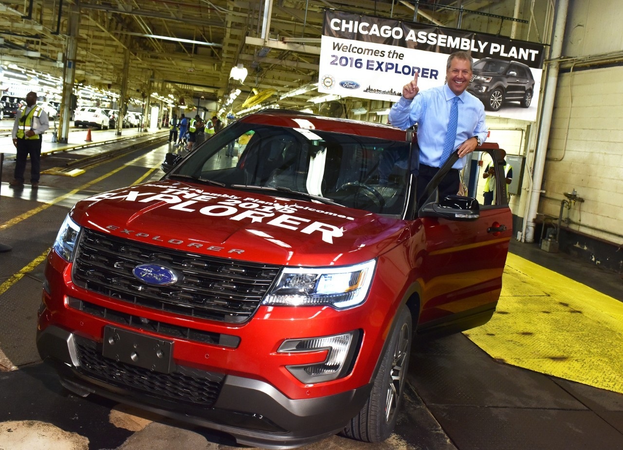 2016 Ford Explorer Production At The Chicago Embly Plant