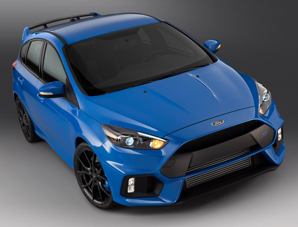 2016 Ford Focus Rs Costs Nearly As Much As A Ford Mustang