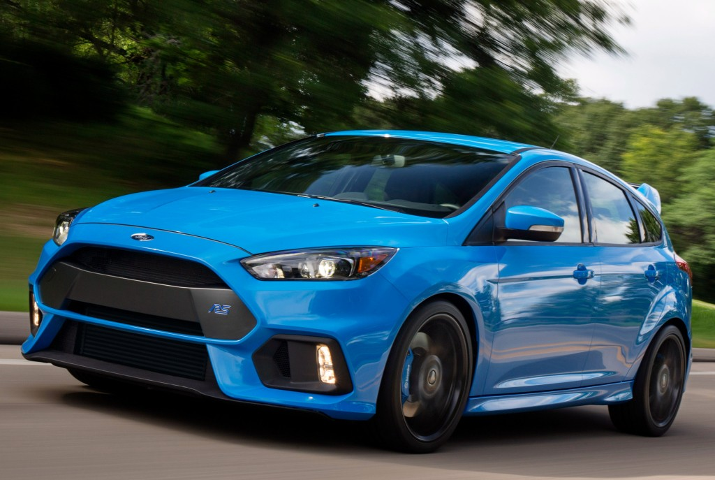 2016 ford focus rs costs nearly as much as a ford mustang gt premium autoevolution