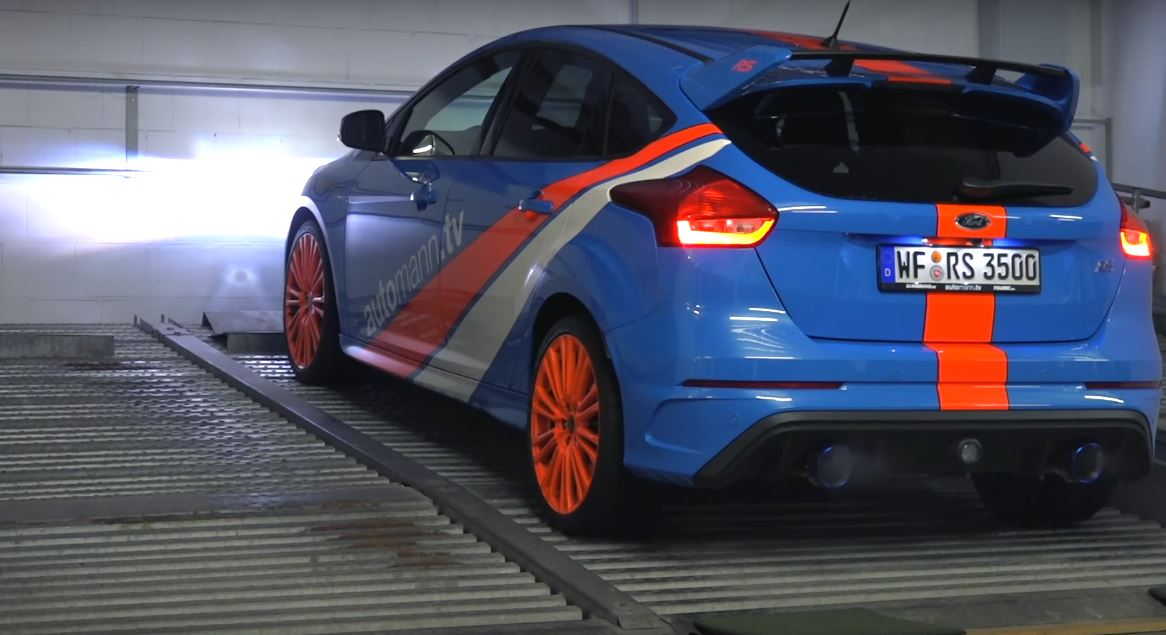 2016 Ford Focus RS EGOX Has a Custom Exhaust Sounds Like a
