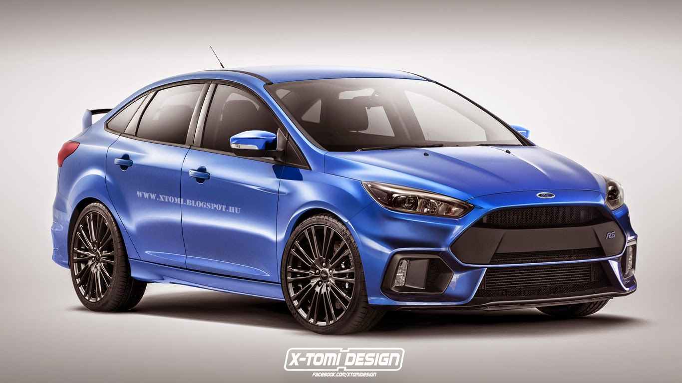 2016 Ford Focus Rs Sedan Digitally Imagined Autoevolution