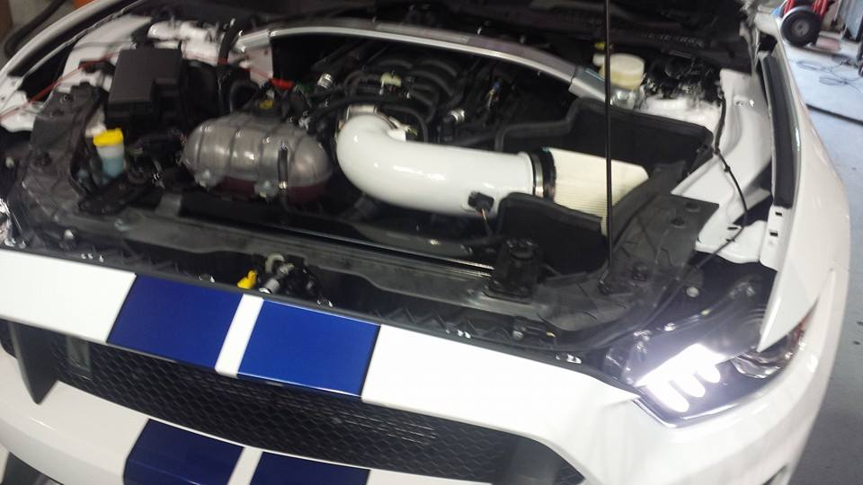 How Does Ecoboost Work >> 2016 Ford Mustang Shelby GT350 Gets Cold Air Intake and ...