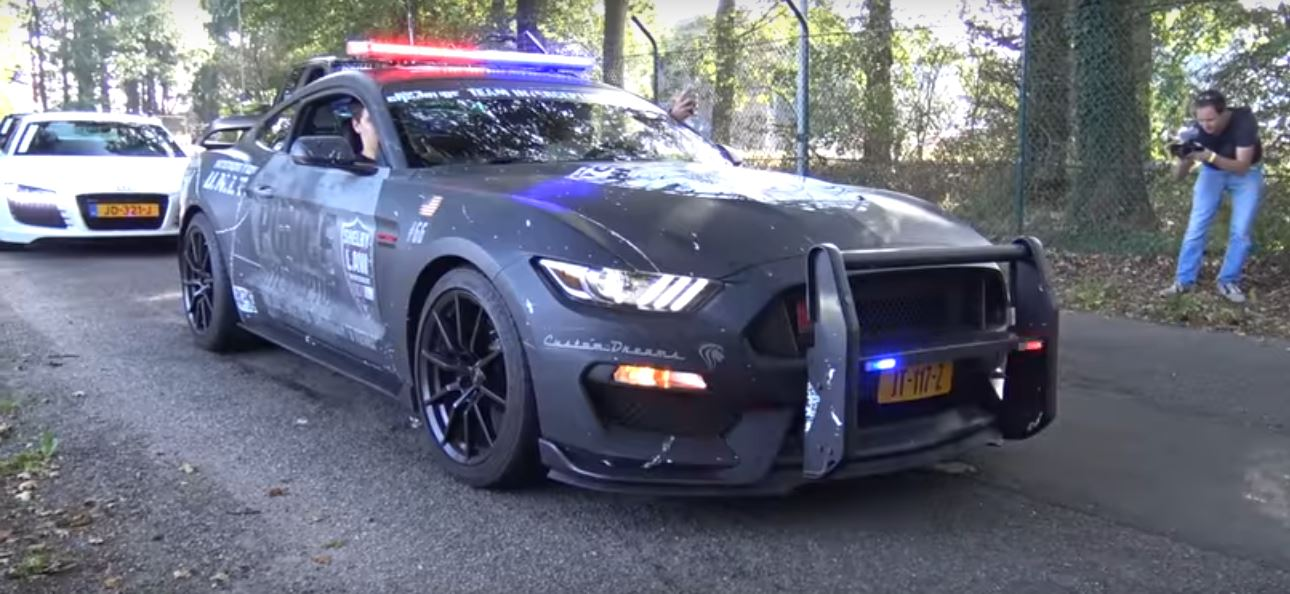 ... 2016 Ford Mustang Shelby GT350 Faux Police Car ... & 2016 Ford Mustang Shelby GT350 Police Car Is a Shameless Dutch ... markmcfarlin.com