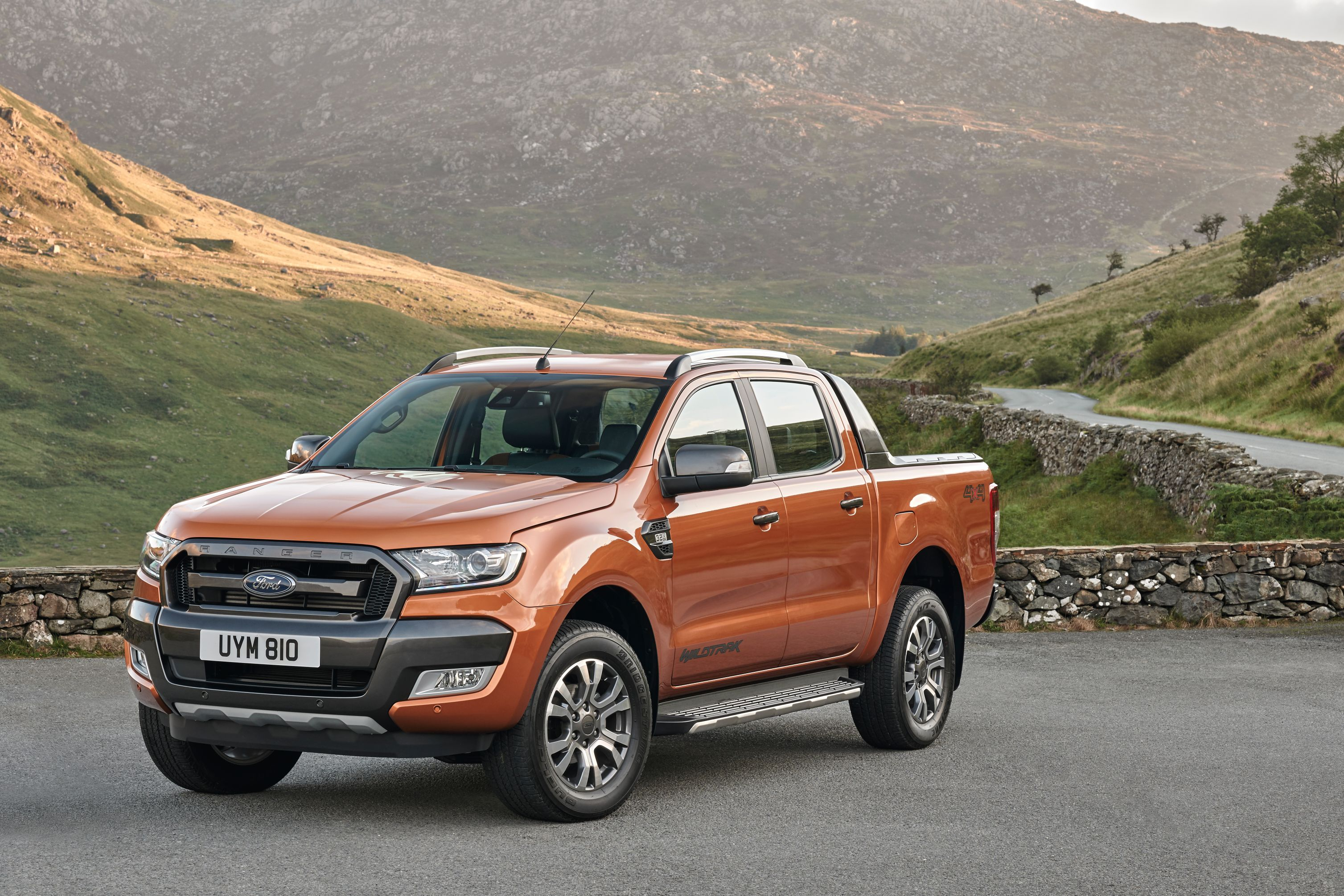 2016 ford ranger prepares to hit european showrooms. Black Bedroom Furniture Sets. Home Design Ideas