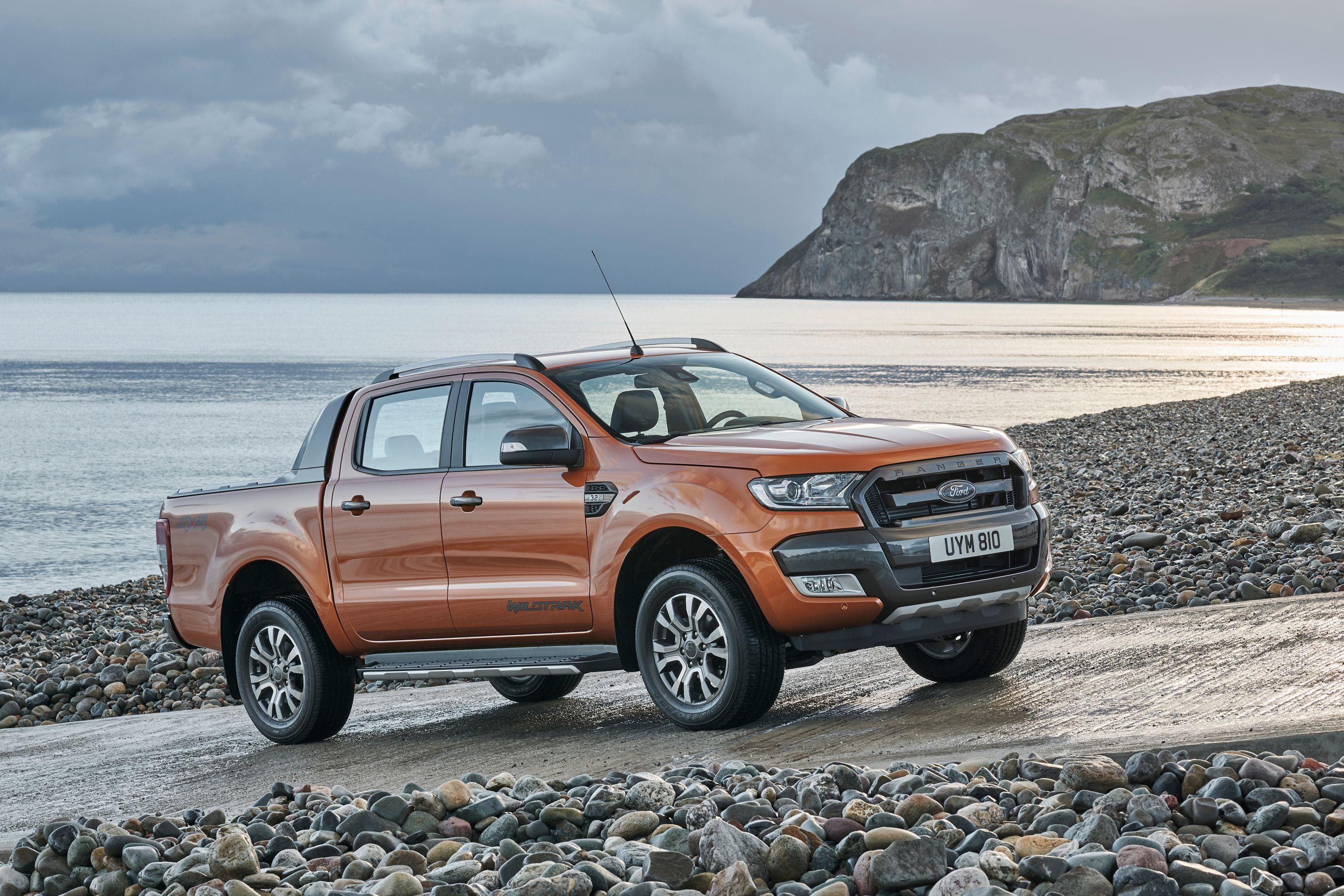 2016 ford ranger facelift european model