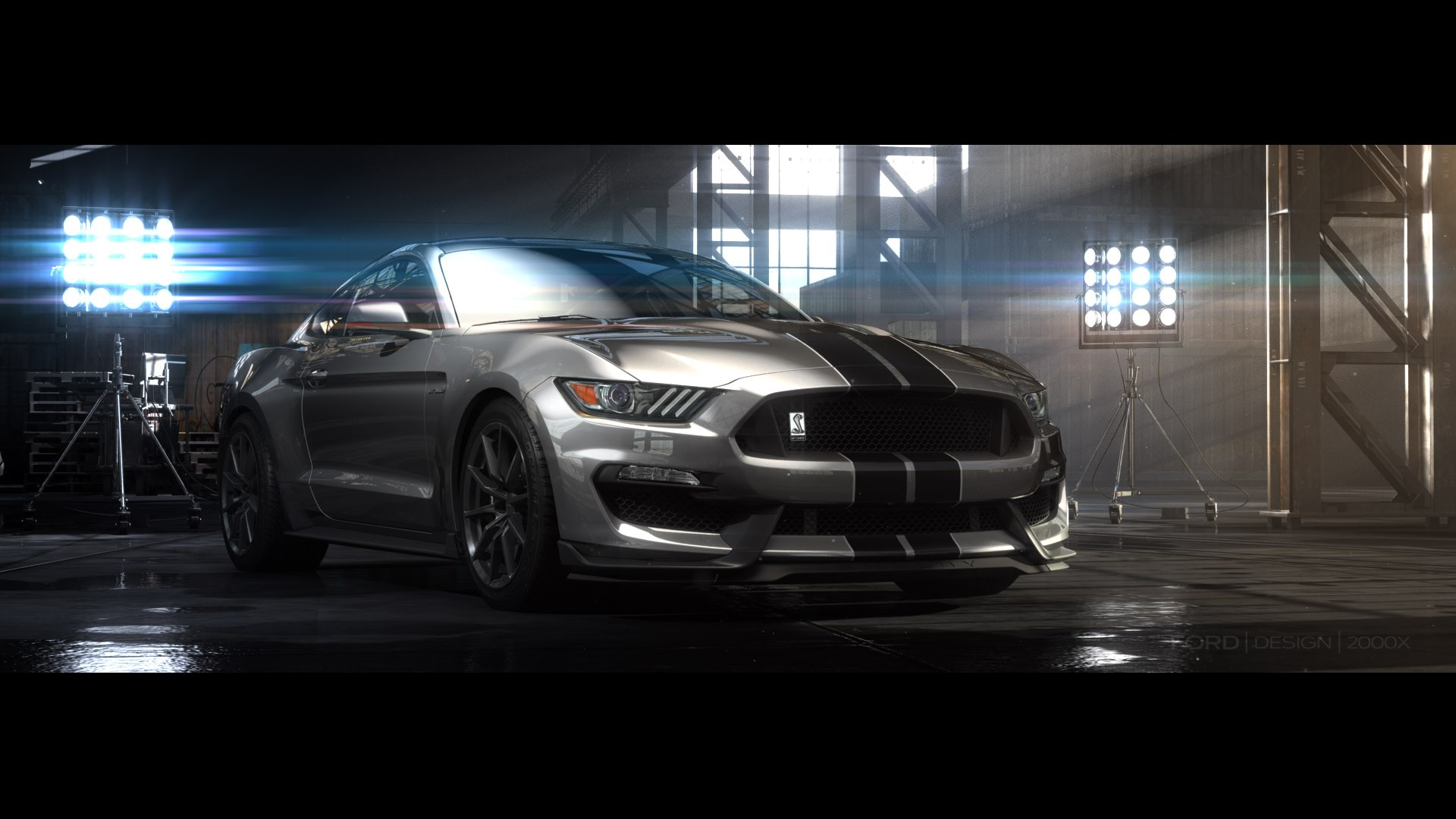 2016 ford shelby gt350 mustang breaks cover video. Black Bedroom Furniture Sets. Home Design Ideas