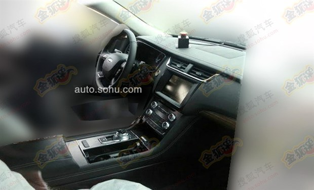 Ford Taurus Prototype Spied In China