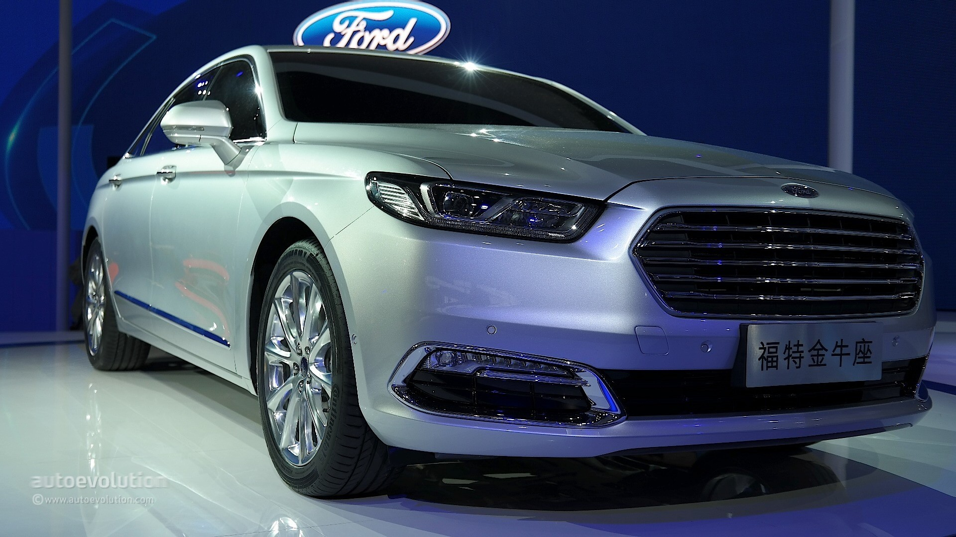 2016 Ford Taurus Sho >> 2016 Ford Taurus Shows Up in Shanghai with Long Wheelbase, Premium Features - autoevolution