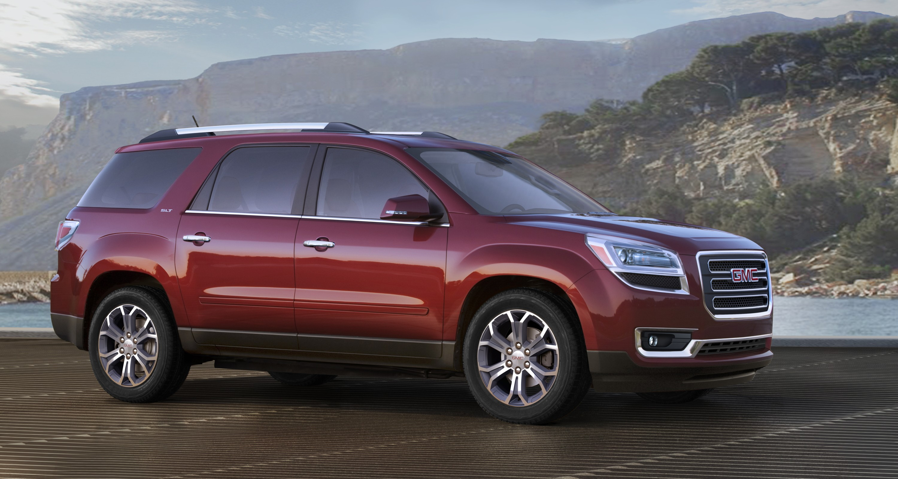 2016 gmc acadia introduced with onstar 4g lte autoevolution. Black Bedroom Furniture Sets. Home Design Ideas