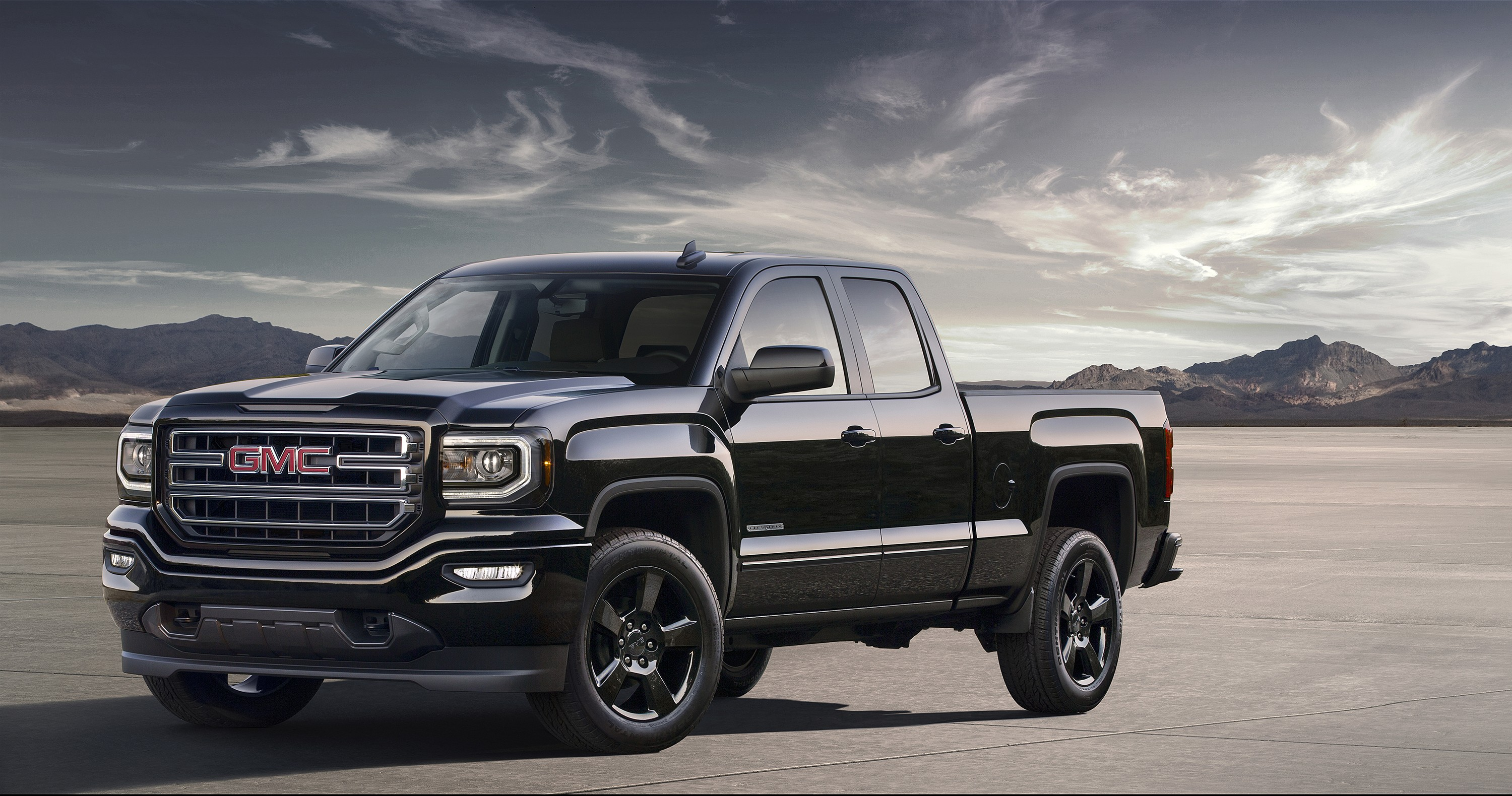 F150 Vs Sierra 2017 >> 2016 GMC Sierra Elevation Edition is an Appropriate Pickup Truck for a Sith Lord - autoevolution