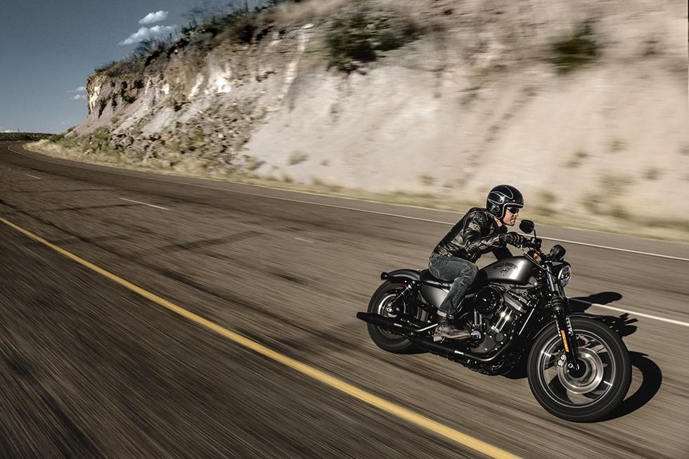 2016 Harley-Davidson Iron 883 Receives Suspension Upgrades ...