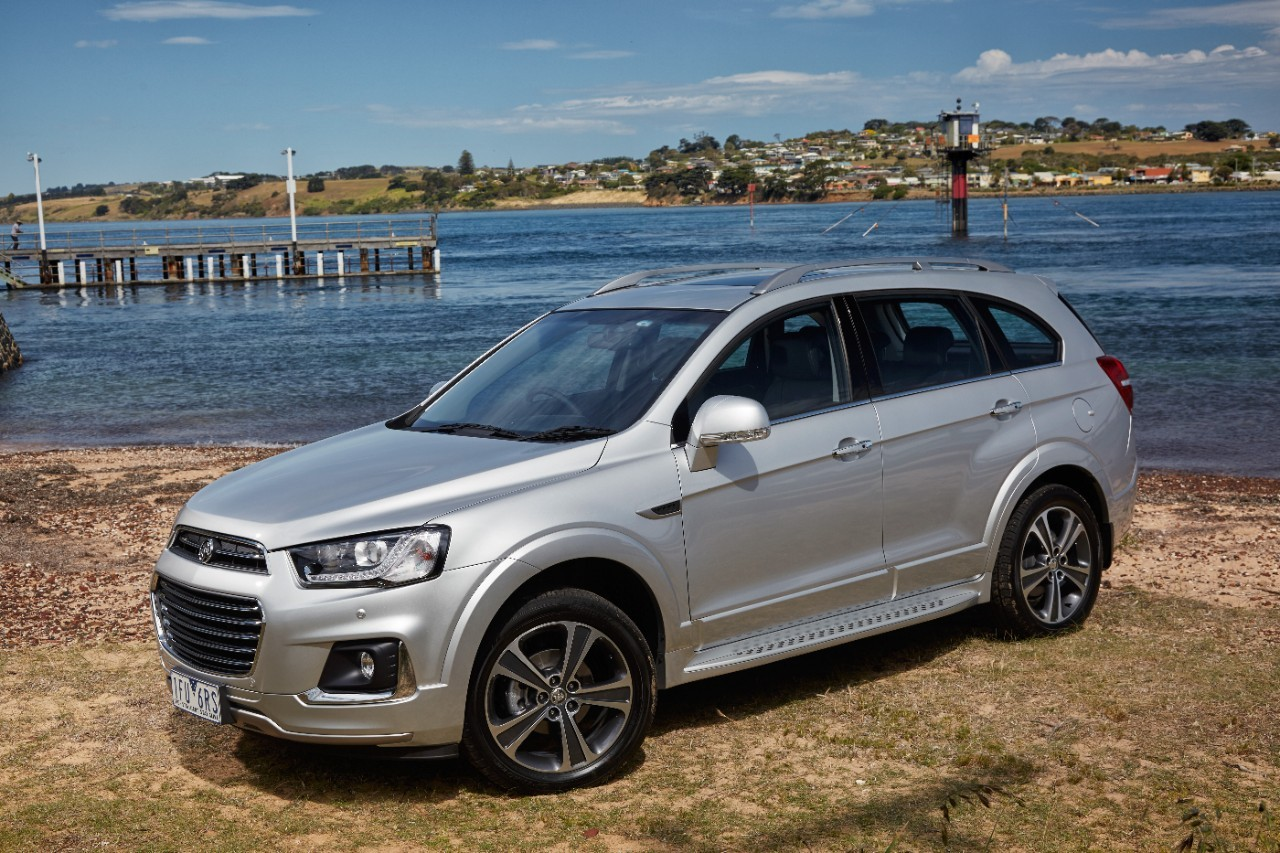 2016 Holden Captiva Boasts Fresh Design Elements, More ...