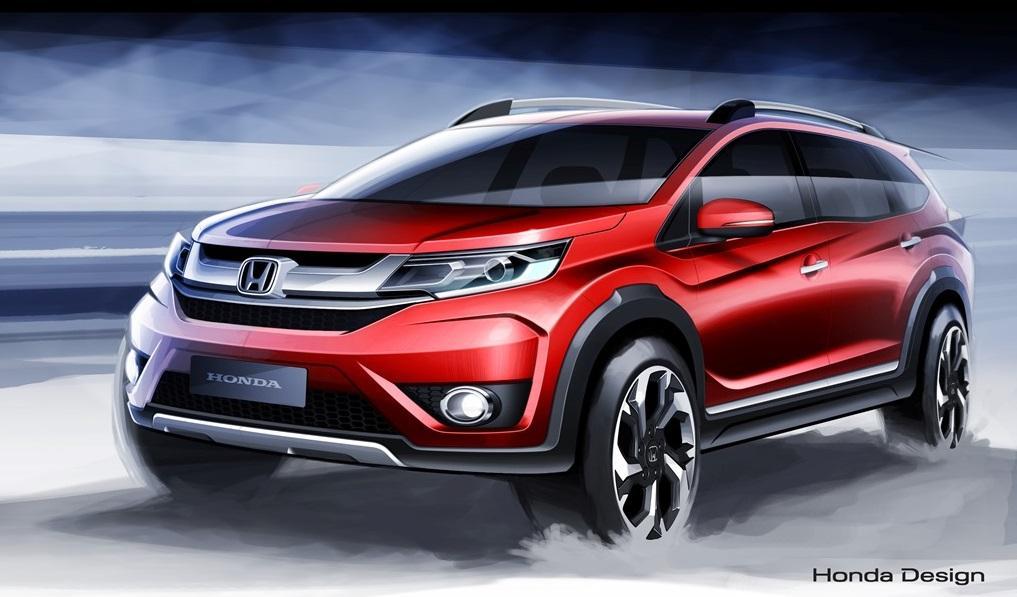 2016 Honda BR-V Active Sport Crossover Debuts in Thailand - autoevolution