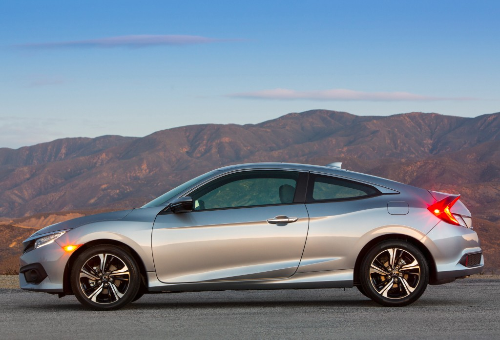 2016 honda civic coupe priced at 19 885 410 more than the sedan. Black Bedroom Furniture Sets. Home Design Ideas