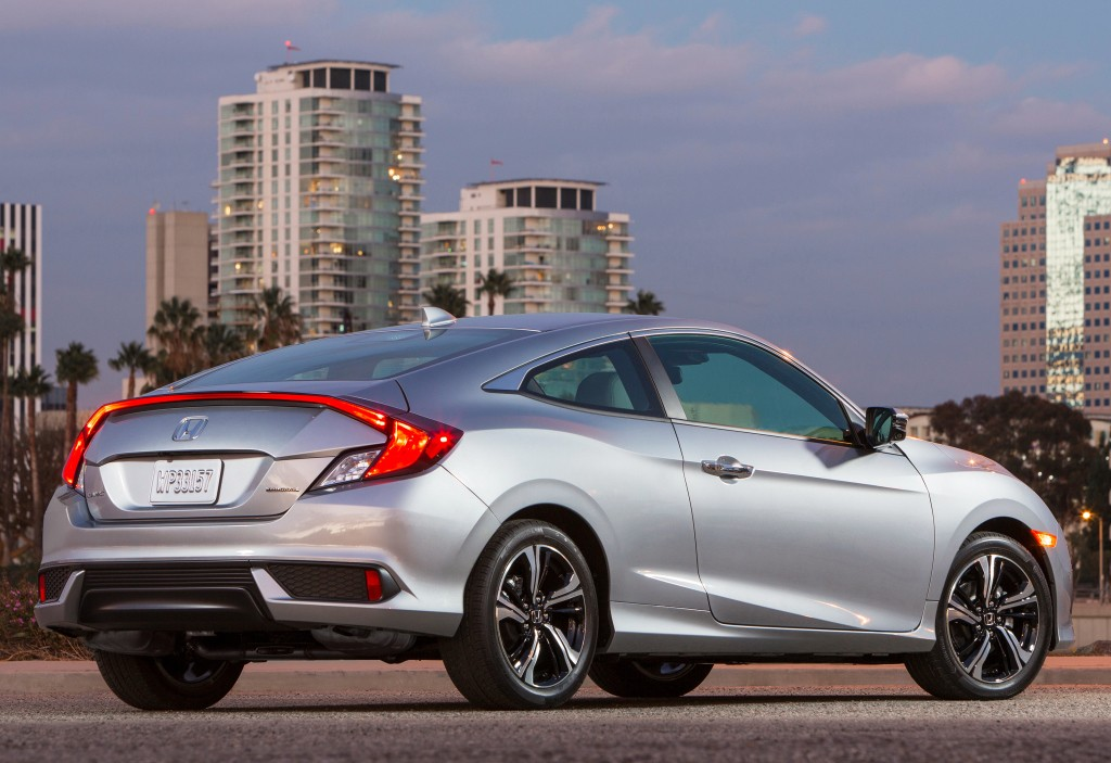 2016 Honda Civic Coupe Priced at $19,885, $410 More than ...
