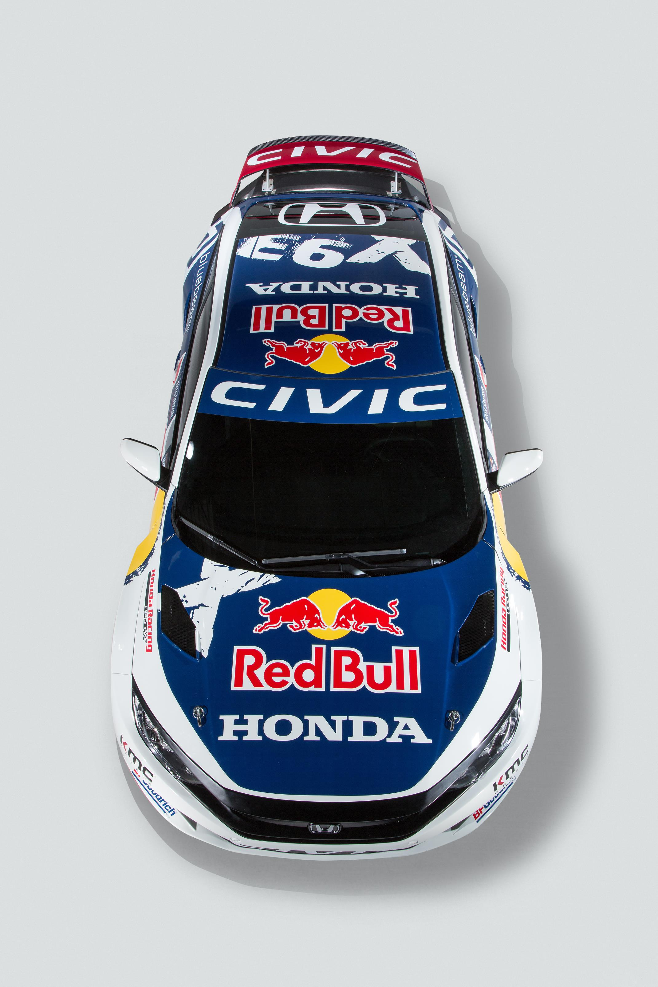2016 Honda Civic Coupe Red Bull Global Rallycross Race Car ...