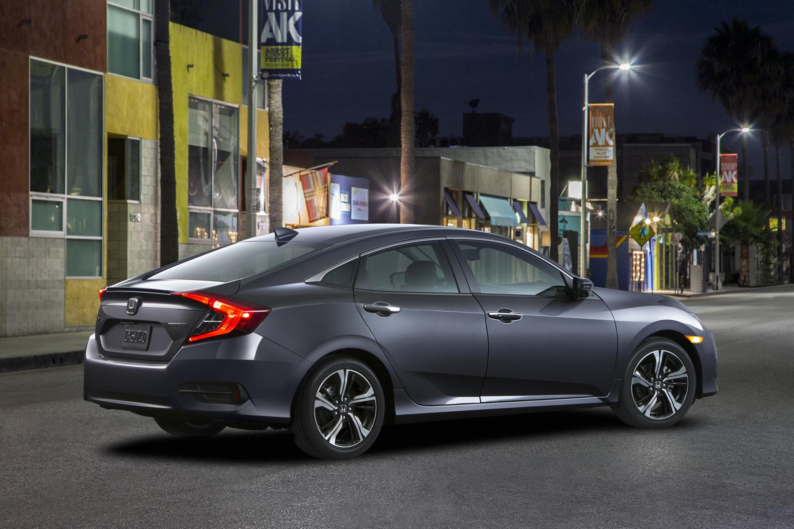 2016 Honda Civic Debuts with Stunning Design and 1.5Liter Turbo