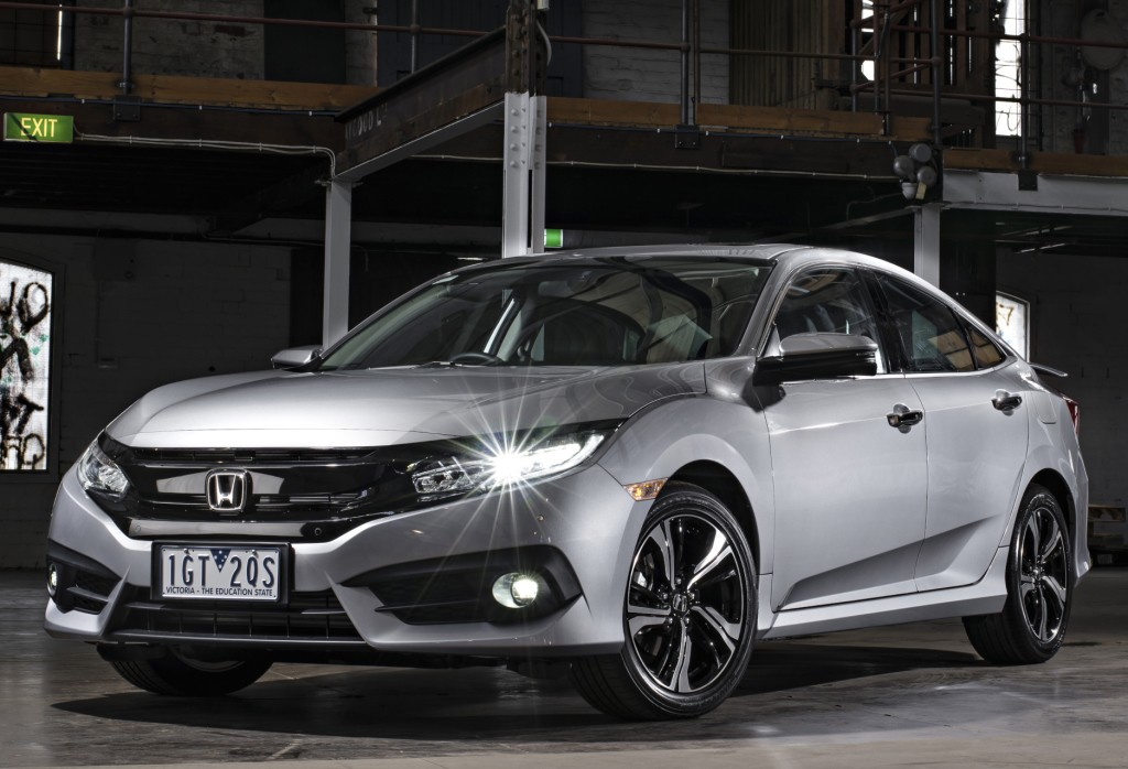 2016 honda civic sedan gets 1 8l in australia hatch and. Black Bedroom Furniture Sets. Home Design Ideas