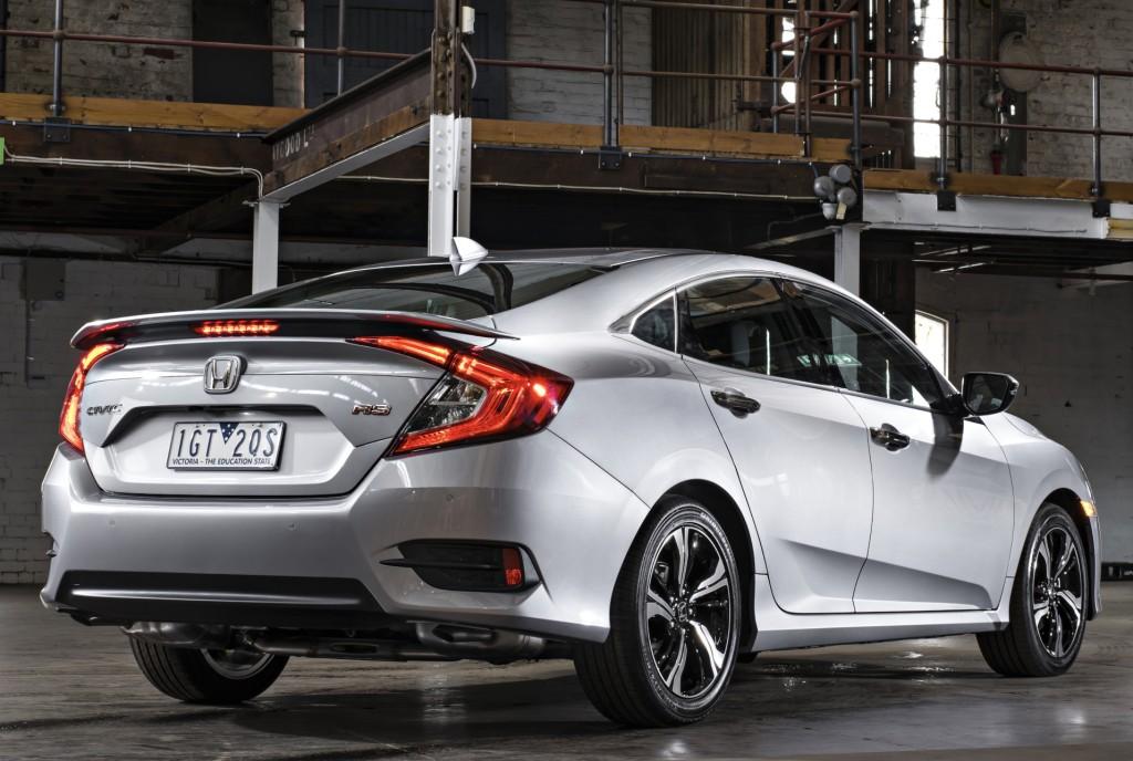 2016 Honda Civic Sedan Gets 1.8L in Australia, Hatch and ...