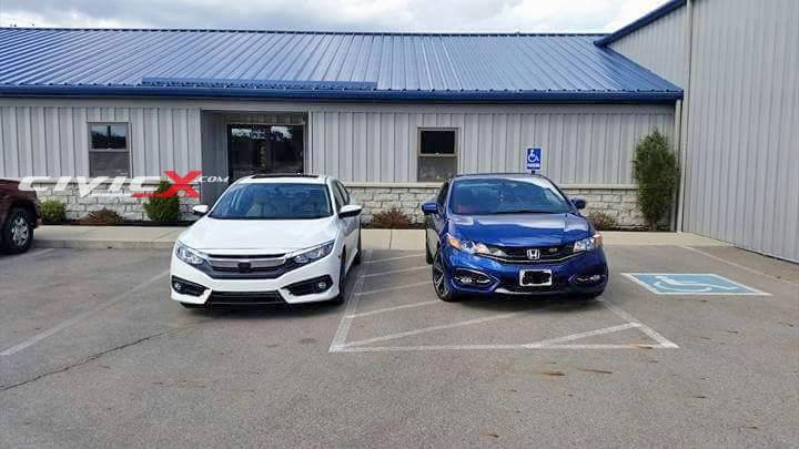 2016 Honda Civic Sedan vs. Outgoing Civic Coupe: Photo Comparison - autoevolution