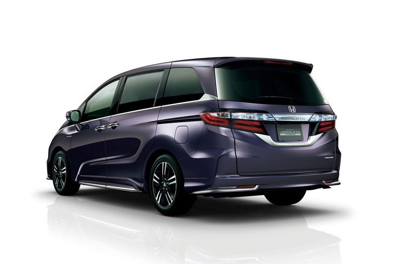 2016 Honda Odyssey Sport Hybrid Goes On Sale In Japan