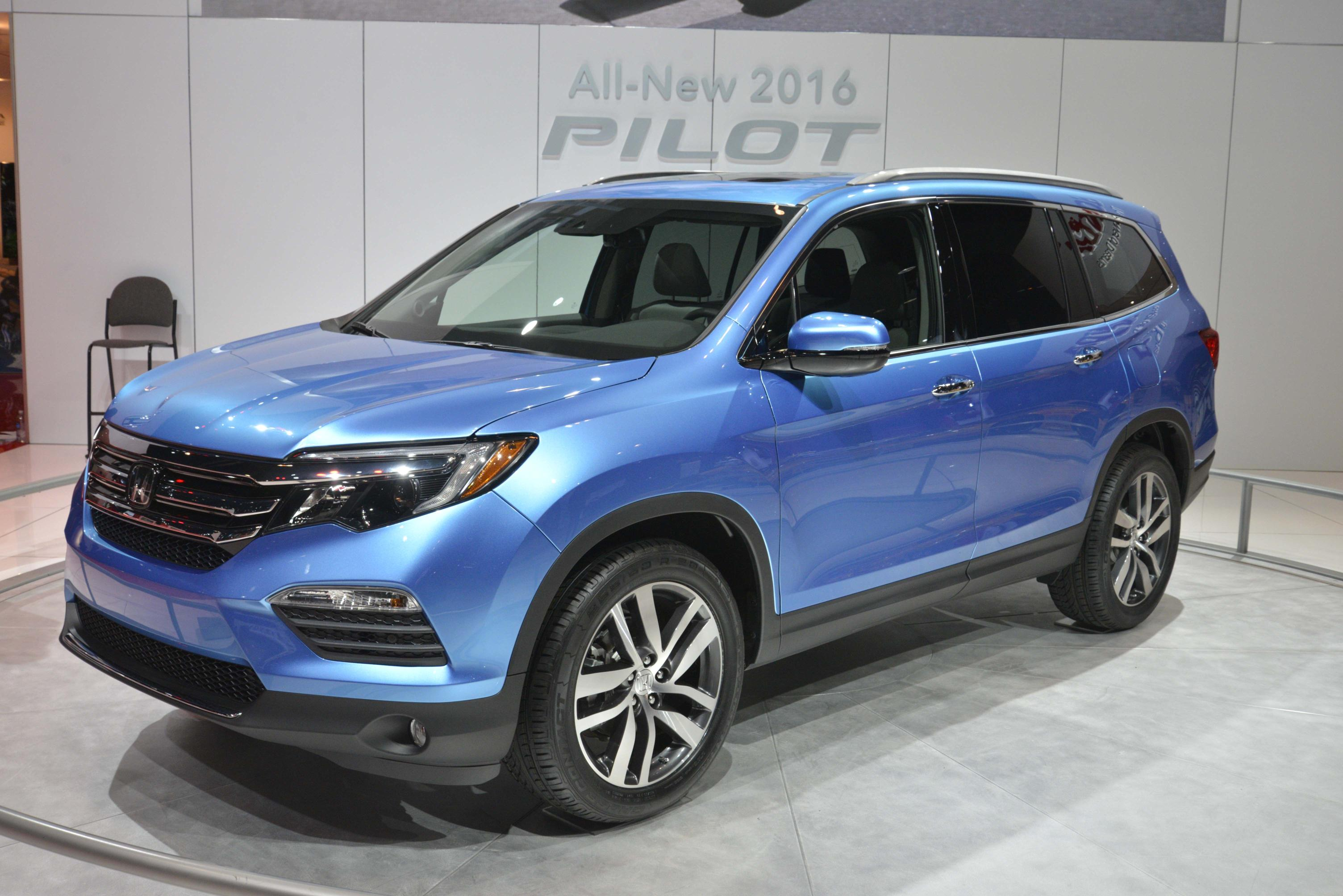 2016 Honda Pilot Live Photos
