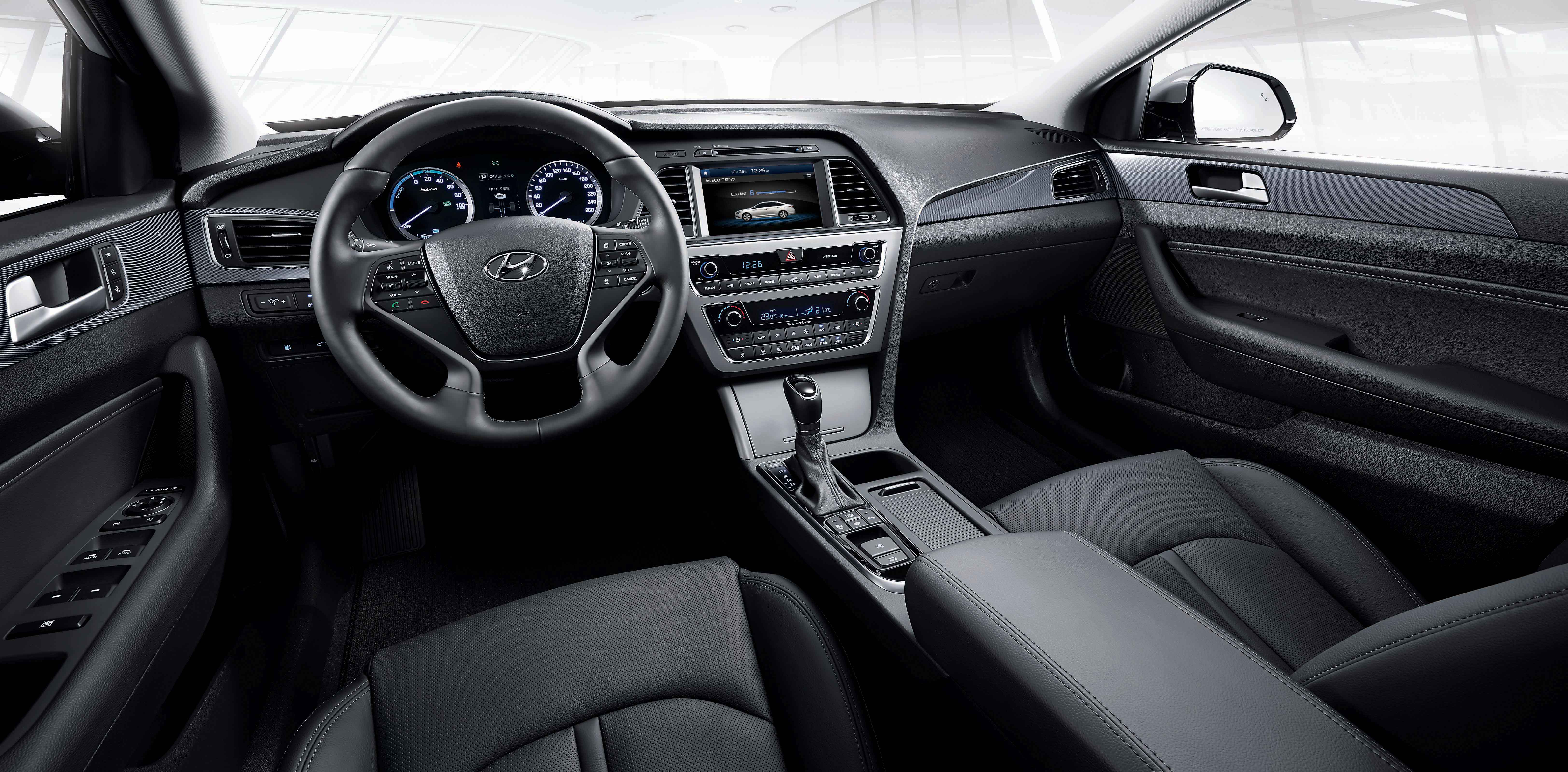 2016 Hyundai Sonata Hybrid Previewed at Launch Event in ...