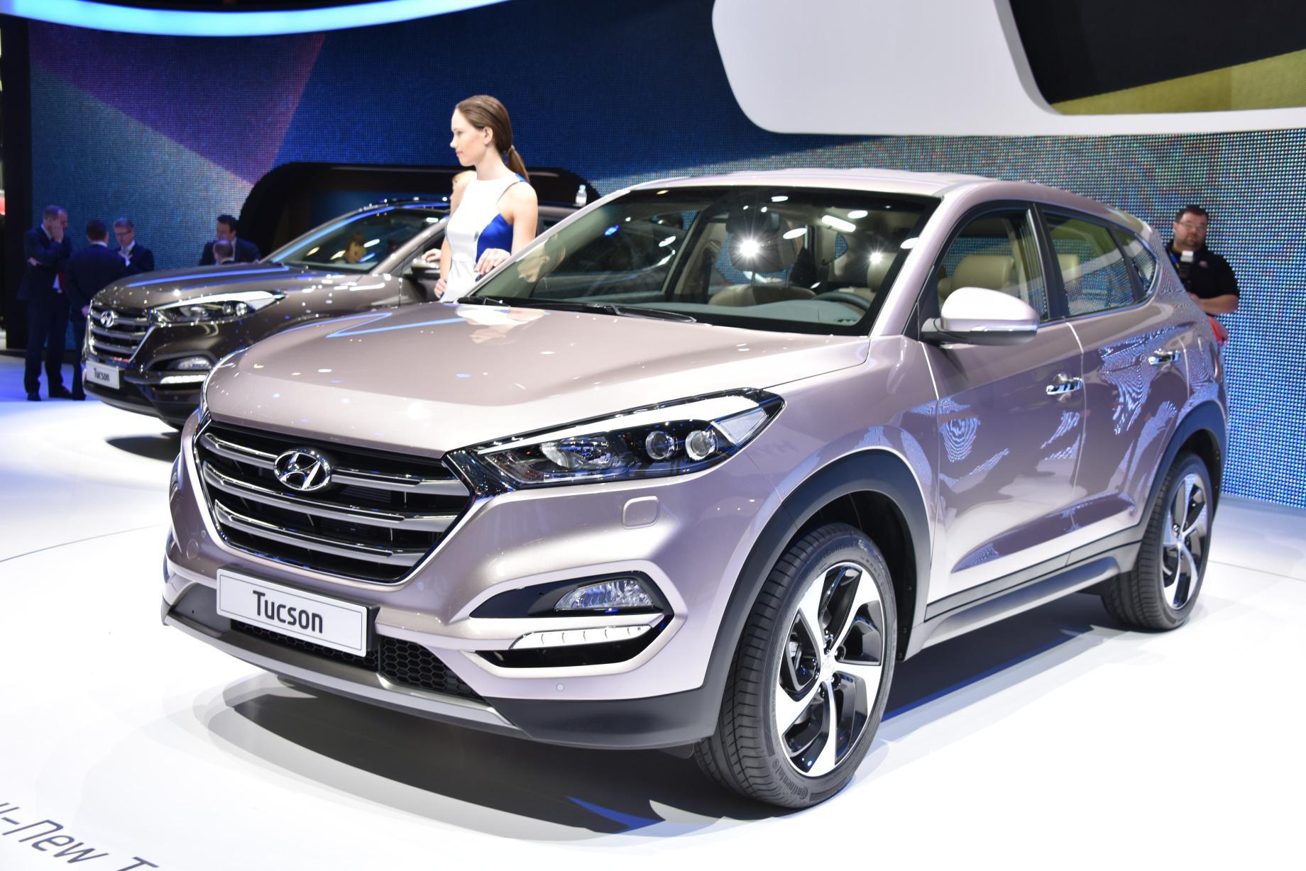 2015 Hyundai Sonata Hybrid >> 2016 Hyundai Tucson Debuts in Geneva with 48V Hybrid and PHEV Engines - autoevolution