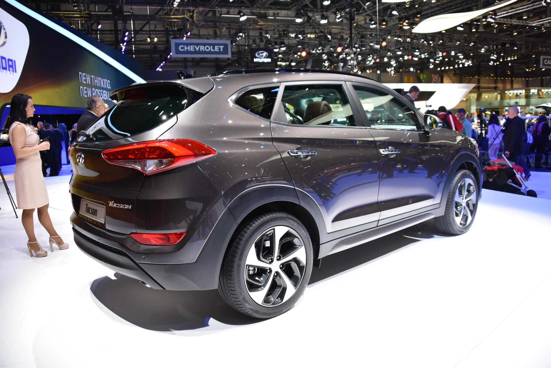 2016 Hyundai Tucson Debuts In Geneva With 48v Hybrid And