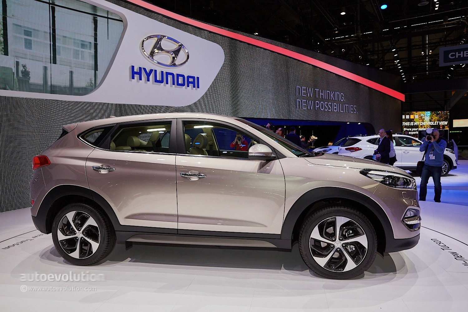 2016 hyundai tucson debuts in geneva with 48v hybrid and. Black Bedroom Furniture Sets. Home Design Ideas