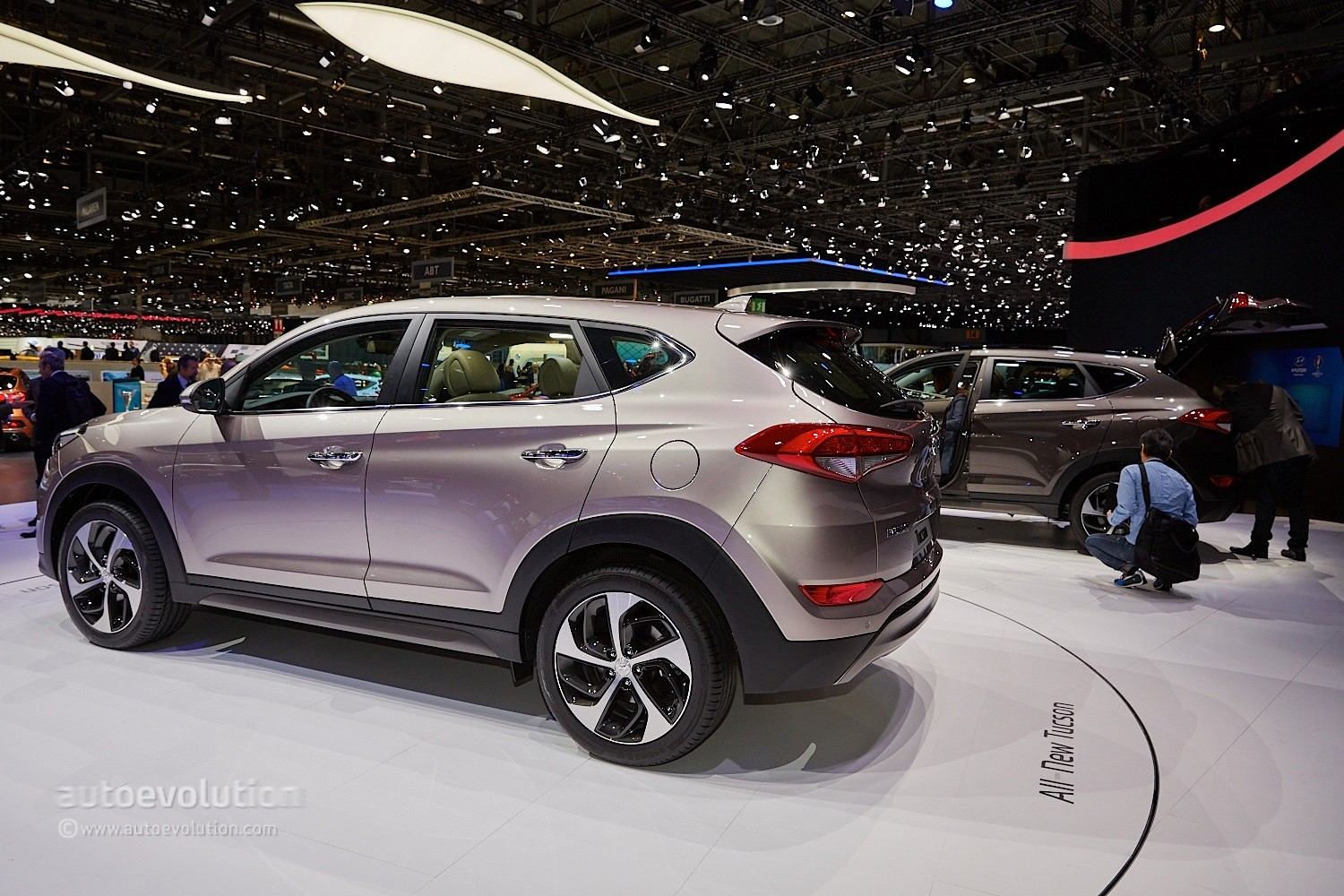 2016 Hyundai Tucson Debuts in Geneva with 48V Hybrid and PHEV Engines - autoevolution