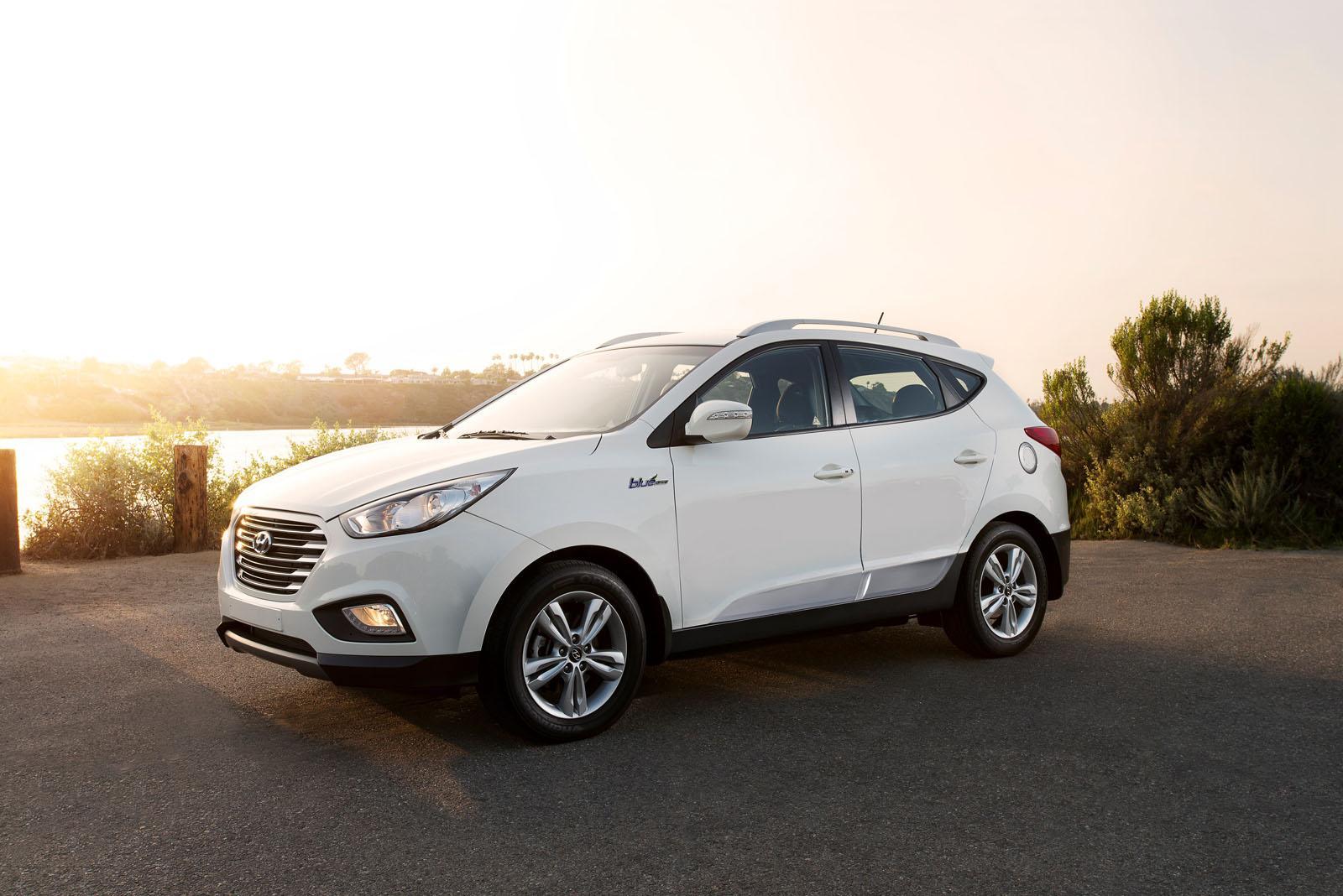 2016 Hyundai Tucson Fuel Cell ...  O