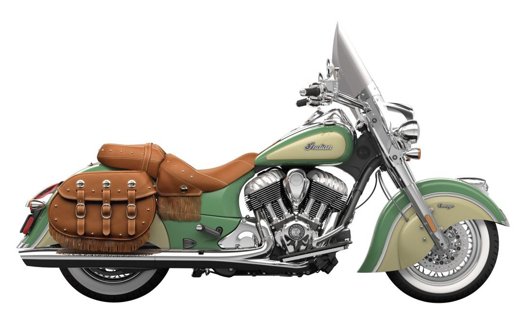 Indian Chief Motorcycle: 2016 Indian Chief Classic And Chief Vintage Introduce New