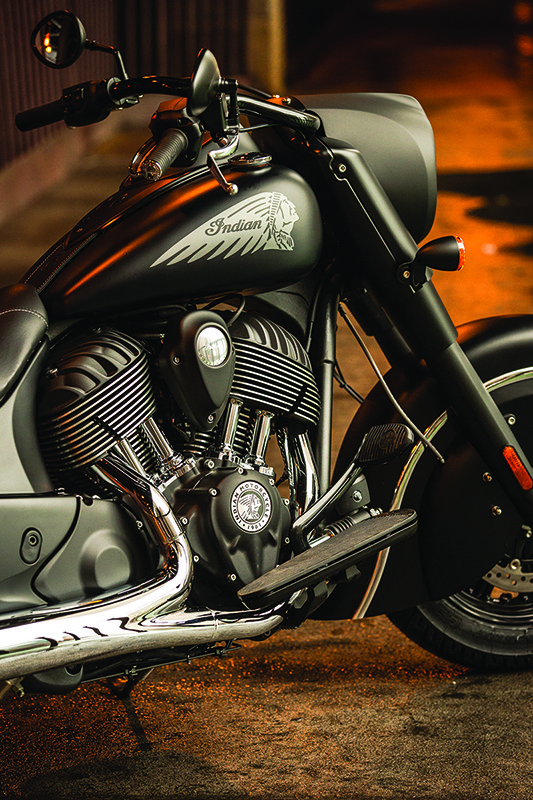 2016 Indian Chief Dark Horse Revealed Price Is Appealing Video
