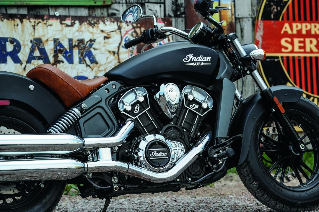 2016 indian scout revealed in all new wildifre red livery autoevolution. Black Bedroom Furniture Sets. Home Design Ideas