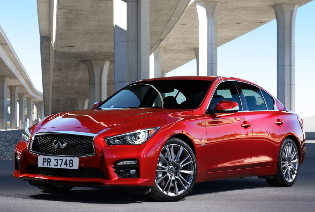 2016 infiniti q50 red sport 400 priced at 47 950 awd model starts at 49 950 autoevolution. Black Bedroom Furniture Sets. Home Design Ideas